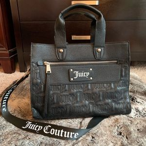 NWT Juicy Couture Logo Satchel